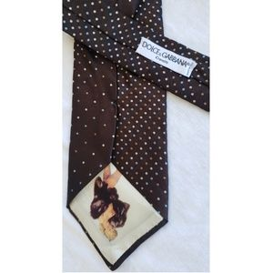 Dolce and Gabbana Polka Dot Tie